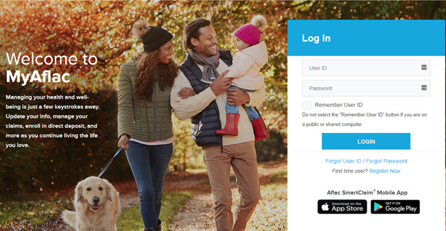 Aflac Login for Policyholders