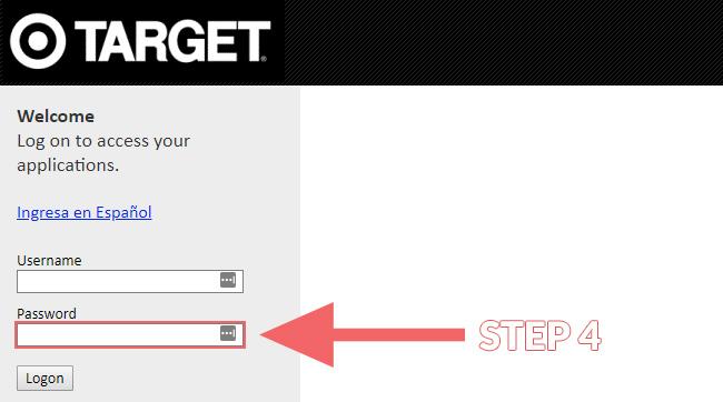 Target Employee Login Steps